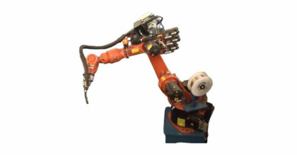 Robotic Flux Core Welding of Pipe Couplings