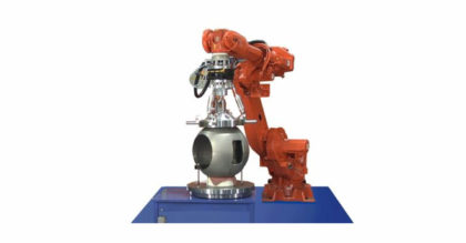 Robotic Precision Lapping System